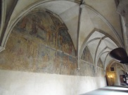 Emmaus Monastery, 14th century frescos