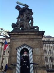 Prague Castle, main entrance