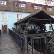 Former water mill and popular pub