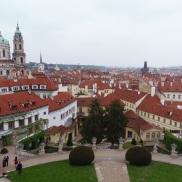 Vrtbovská garden, lesser town, prague guide, prague tour,