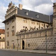personal prague tour guide, prague tours, prague steps, Schwarzenberg Palace, Renaissance building from 16th century, Home of National Gallery , departement of Czech Baroque Art