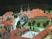 prague steps, personal prague guide, prague tours, walking tours, Model of Strahov Monastery complex (on display in Strahov Monastery)