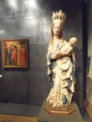 madonna of michle, national gallery, bohemian art, mediaeval art, gothic art,