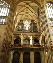 St. Vitus Cathedral; organ loft