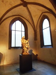 Madonna of Cesky Krumlov, gothic sculpture, national gallery, prague guide, gallery guide, art in Prague,