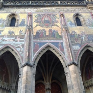 St. Vitus Cathedral; Golden Mosaic