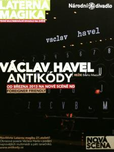 anticodes, antikody, Havel, national Theatre, Prague, art in Prague, Prague culture, Prague concerts