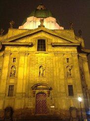 prague steps, prague tours, personal prague guide, st. francis church, jean baptist mathey