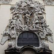 prague steps, prague tours, personal prague guide, st. james church, stucco decoration, old town