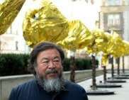 Èínský konceptuální umìlec a známý kritik tamního režimu Aj Wej-wej pøedstavil 5. února v Praze své dílo nazvané Zvìrokruh.