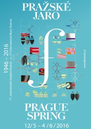 official poster of Prague Spring Festival