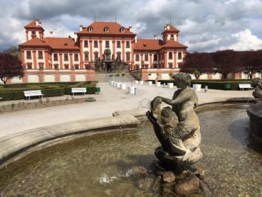 Troja Chateau in Prague