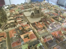 Model of the town